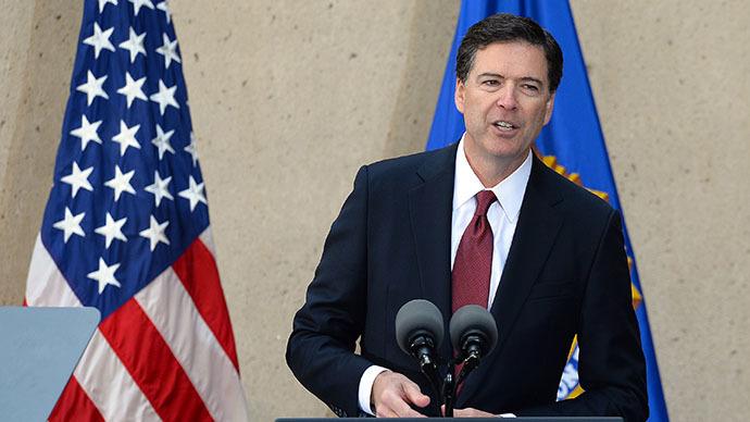 Federal Bureau of Investigation (FBI) director James Comey