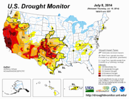 Drought-Monitor-July-8-2014-300x231