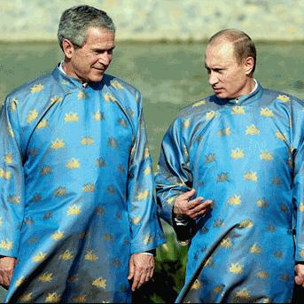 Putin and Bush Agent