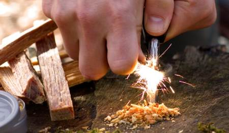 fire-starting skills