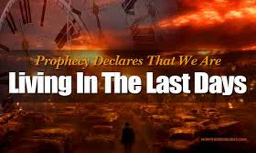 Biblical End Of Days – Prophetic Events—in Exact Sequence ...