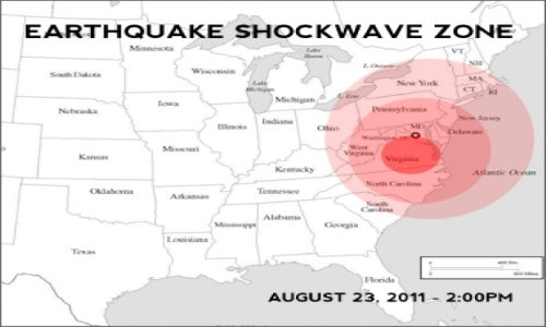 Government Warns Eastern USA in serious NEW earthquakes danger! (NJ, NYC and VA in particular danger!)