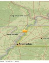 M3.0 Earthquake Strikes New Madrid Fault in Missouri