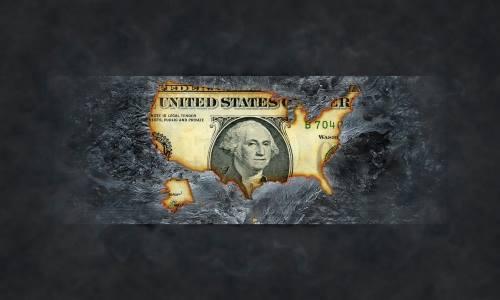 Burned-Dollar-US-Economy