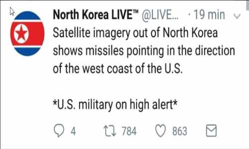 "North Korea Announces Intent to Attack – Missiles Reportedly ""Aimed"" at US West Coast +Videos"